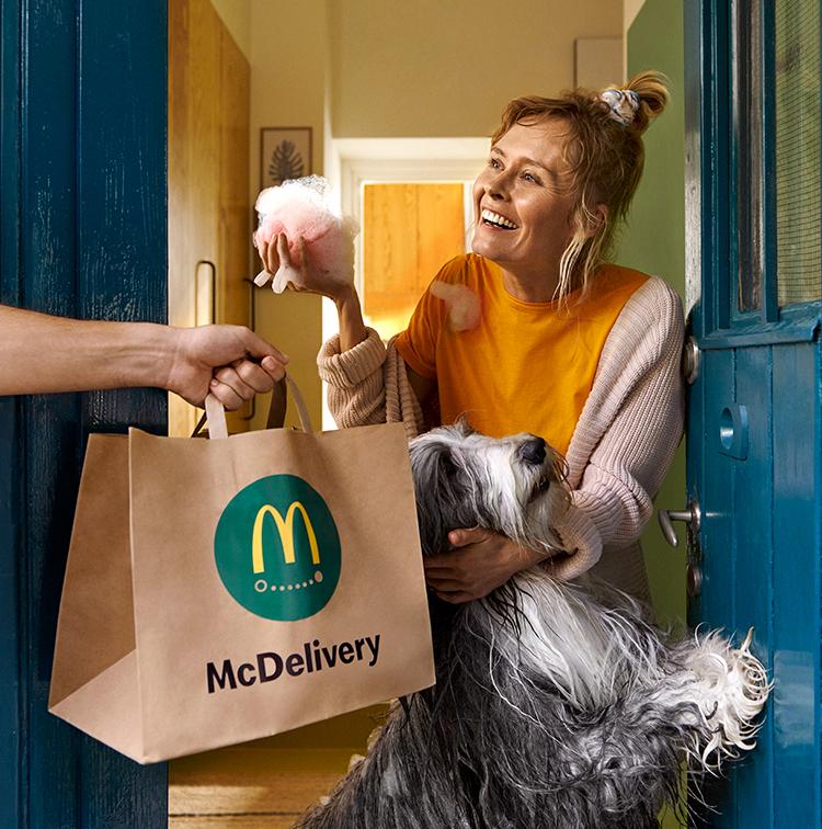 Mcdonald rozvoz brno